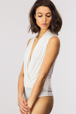 White Knight Body Suit - Downtown Chic Online
