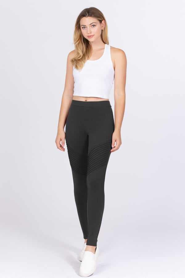 Work Overtime Leggings in Charcoal