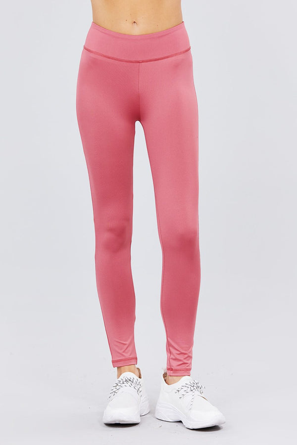 Work & Chill Leggings in Pink