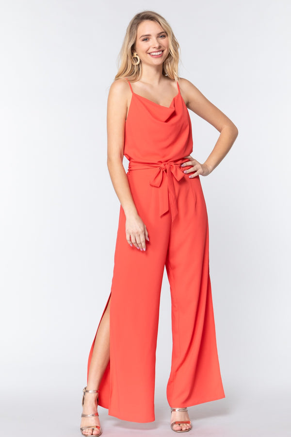 Take me Out Jumpsuit in Watermelon