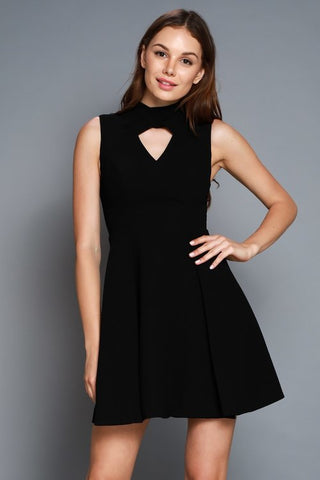 Staying Out Late Dress in Black - Downtown Chic Online