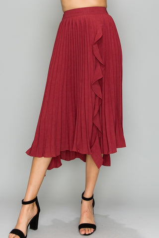 Pretty Pleats Skirt - Downtown Chic Online