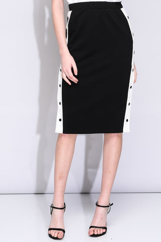 Catch Me if You Can skirt in black - Downtown Chic Online