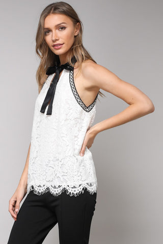 Domination top in white - Downtown Chic Online