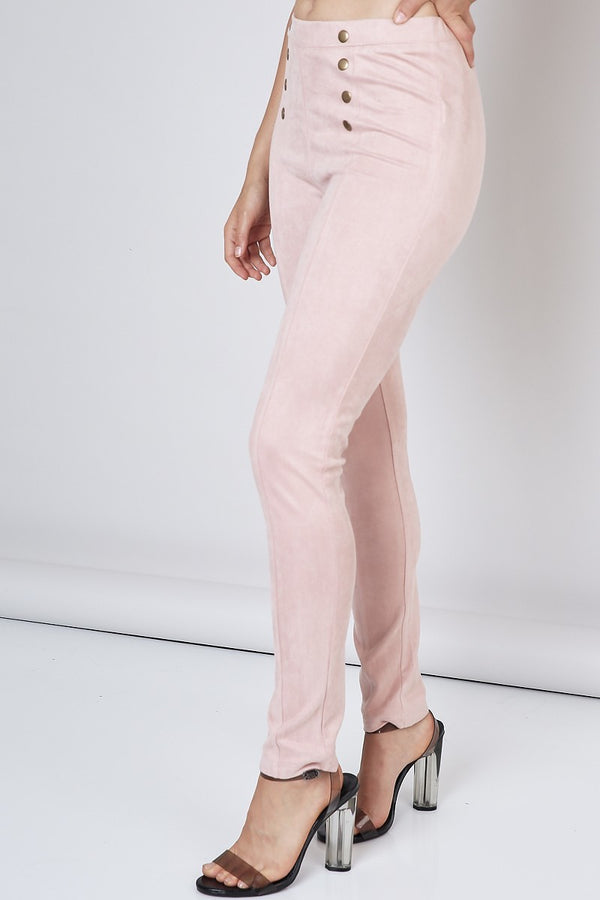 Members Only Pant in Blush - Downtown Chic Online