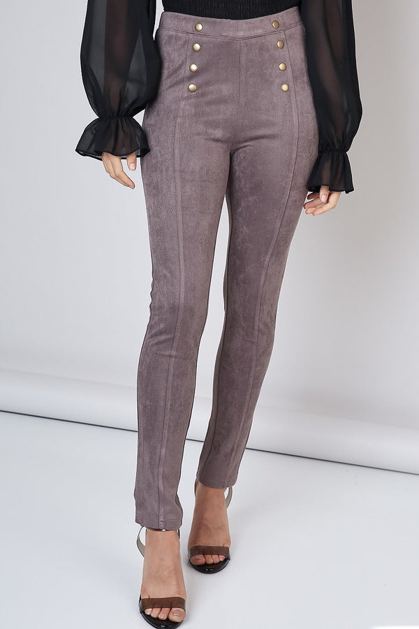 Members Only Pant in Concrete - Downtown Chic Online