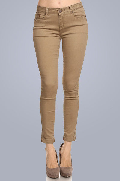 Falling for You Skinny Pant - Downtown Chic Online