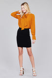 Pumpkin Spice & Everything Nice top - Downtown Chic Online