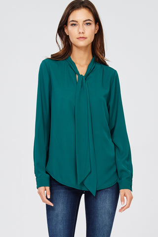 Show Me the Money top in green - Downtown Chic Online