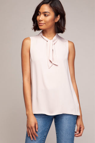 Darling Babe in blush top - Downtown Chic Online