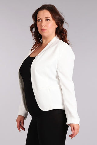 Show Stopper Blazer in Black - Downtown Chic Online