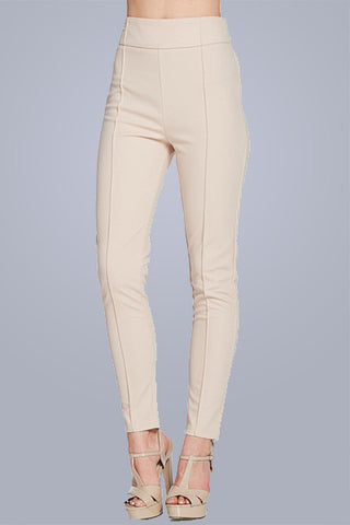 Copy Right pant in Taupe - Downtown Chic Online