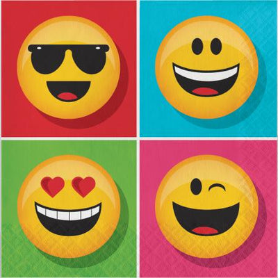 Show Your Emojians Party Napkins Pack of 16