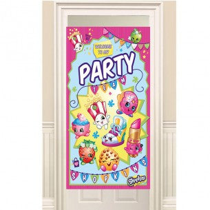 Shopkins Party Door Banner