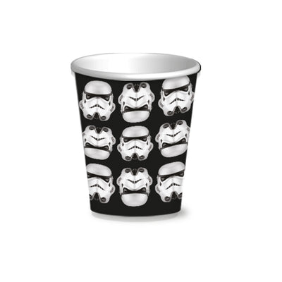 Star Wars Stormtrooper Children's Party Tableware Cup - Pack 8