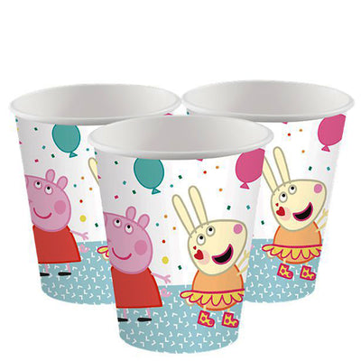 Peppa Pig Party Paper Cup - Pack of 8