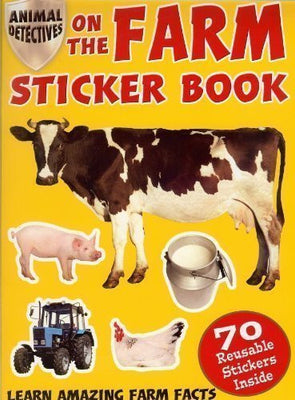 On the Farm Sticker Book