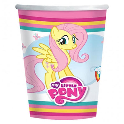 My Little Pony Kids Birthday Party Paper Cup (266ml) - Pack of 8