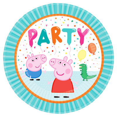 Peppa Pig Party Paper Plate - Pack of 8