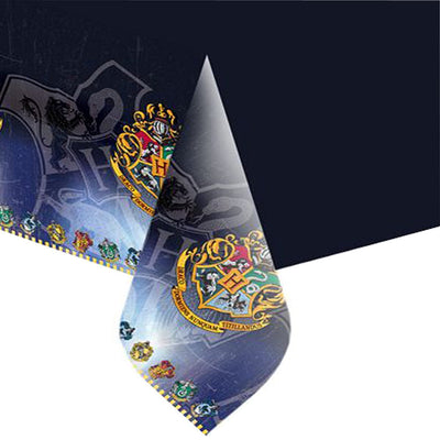 Harry Potter Party Plastic Tablecover138cm x 183cm- 1Pack