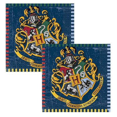 Harry Potter Party Napkins  (33cm x 33cm) Pack of 16
