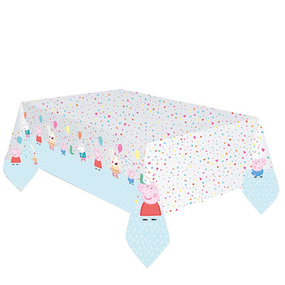 Peppa Pig Party Plastic Tablecover 1Pack