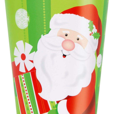 Santa Christmas kids Party Paper Cup-Pack of 8