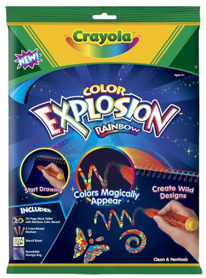 Wholesale Crayola Colour Explosion Rainbow