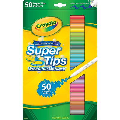 Wholesale Crayola 50 Washable Supertips