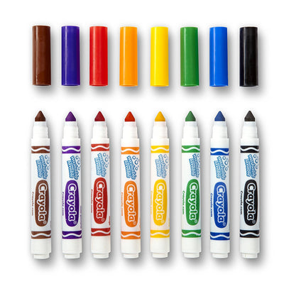 Wholesale Crayola 8-Ultra Clean Washable Broad Marker