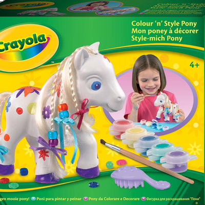 Wholesale Crayola Colour And Style Pony