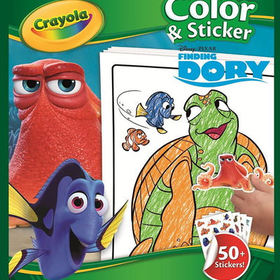 Wholesale Crayola Dory Colour N Sticker Book