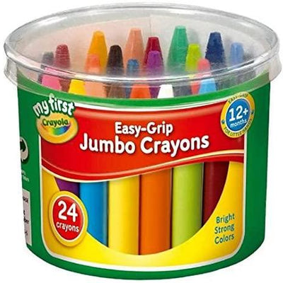 My First Crayola - Easy-Grip Jumbo Crayons - Pack of 24