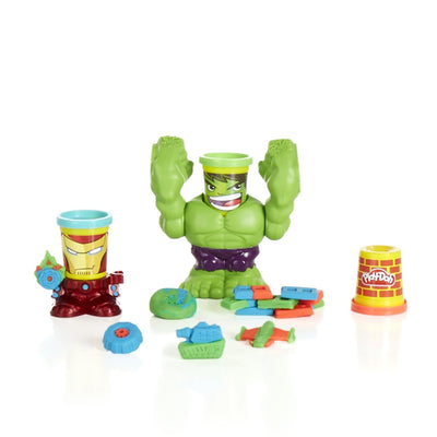 Wholesale Play-Doh Marvel Smashdown Can-Heads Featuring Hulk Figure