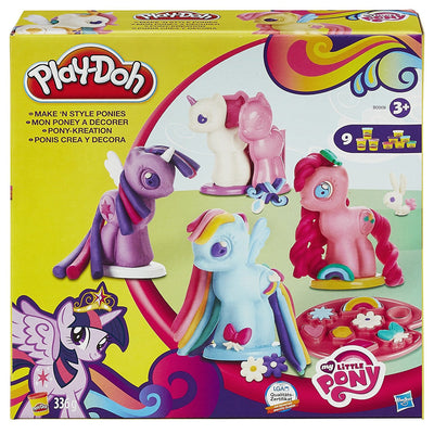 Wholesale Play-Doh My Little Pony Make N Style Ponies
