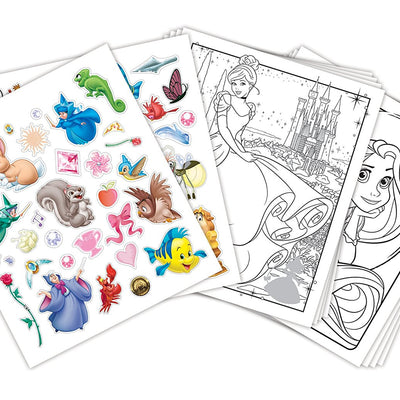 Wholesale Crayola-Disney Disney Princess Colour and Sticker Book