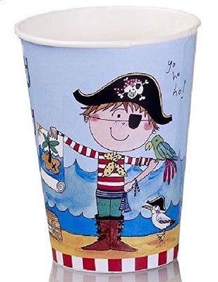 Rachel Ellen Pirate Party Paper Cups Pack of 8