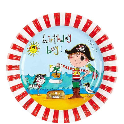 Rachel Ellen Pirate Paper Plates Pack of 8