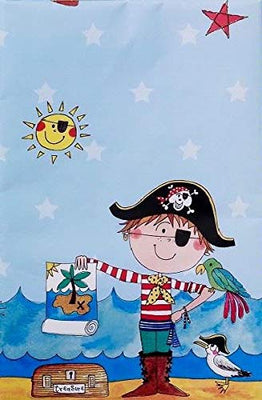 Rachel Ellen Pirate Plastic Table cover Pack of 1
