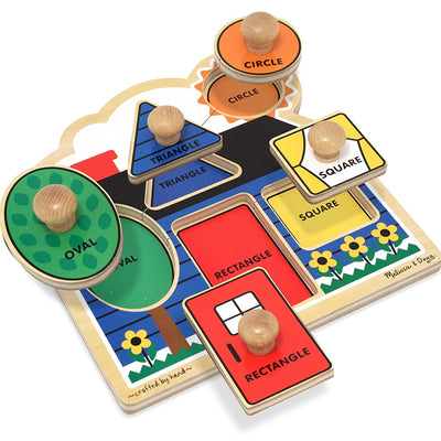 Wholesale Melissa & Doug First Shapes Peg Puzzle (Large)