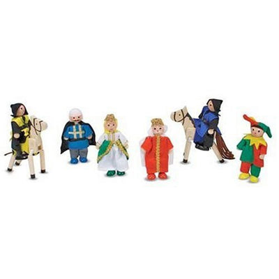 Wholesale Melissa & Doug Castle Wooden Figure Set