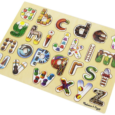 Wholesale Melissa & Doug Alphabet Art Wooden Alphabet Puzzle