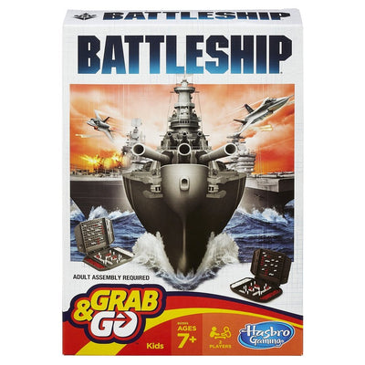 Hasbro Grab & Go Battleship Travel Game