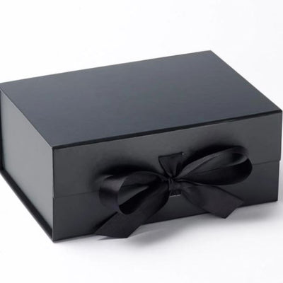 Premium Foldable Gift Box with Changeable Ribbon- Set of 3