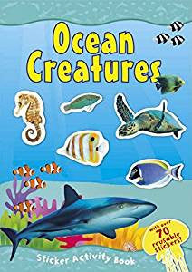 Ocean Creatures Sticker Book