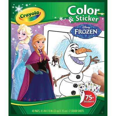 Wholesale Crayola Disney Frozen Colour and Sticker Book