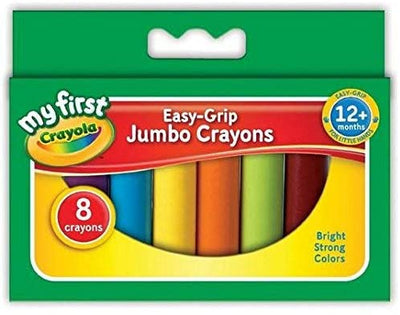 Crayola -My First Jumbo Crayons -8-Pack