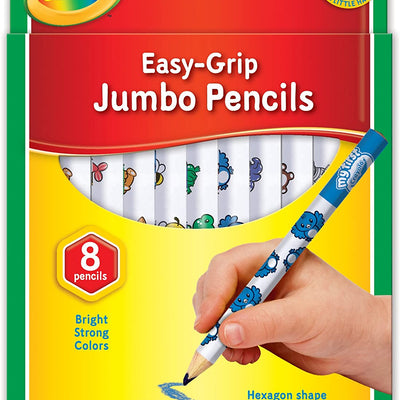 My First Easy Grip Crayola  Jumbo Pencils-8pack