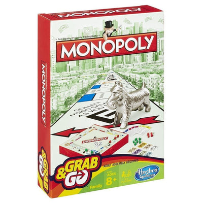 Hasbro Monopoly Grab & Go Portable Game