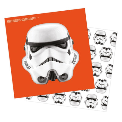 Star Wars Stormtrooper Children's Party Napkin Pack 16